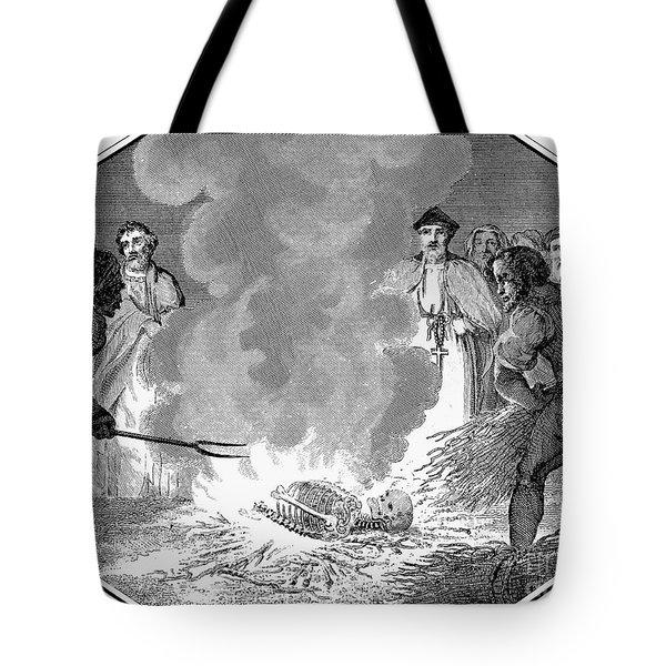 John Wycliffe (1320?-1384) Tote Bag by Granger