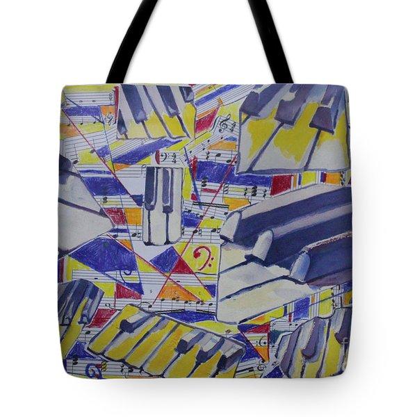 Jumping Jazz Tote Bag