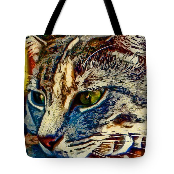 Just Chillin' Tote Bag by David G Paul