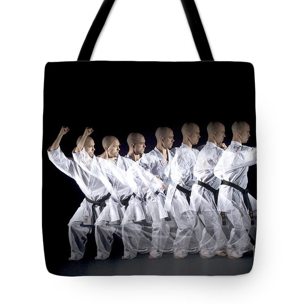 Karate Expert Tote Bag by Ted Kinsman