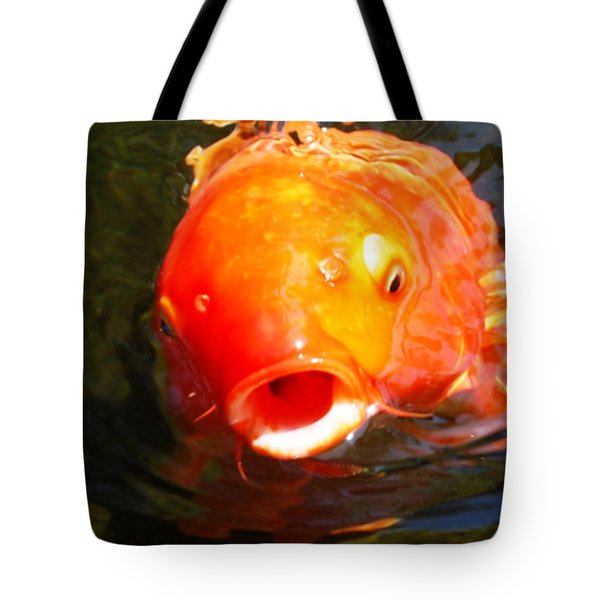 Koi Fish Tote Bag by Angela Murray