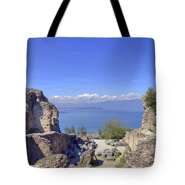 Lake Garda Tote Bag by Joana Kruse