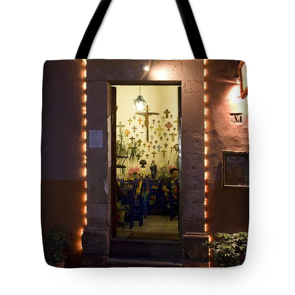 Las Cruces Tote Bag by Lynn Palmer