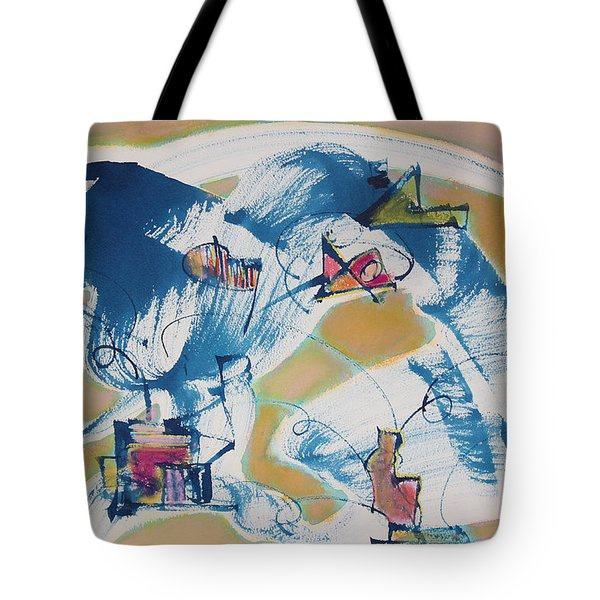 Letting Go Tote Bag by Asha Carolyn Young