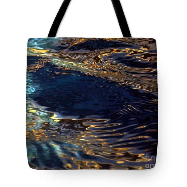 Light On Water Tote Bag by Dale   Ford