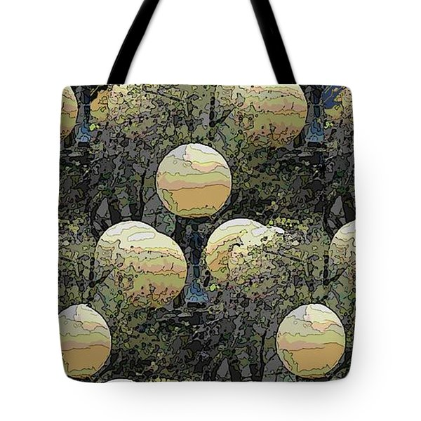 Lighting The Way Tote Bag by Tim Allen