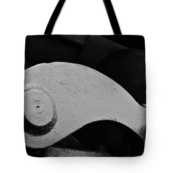 Locomotive Detail Tote Bag