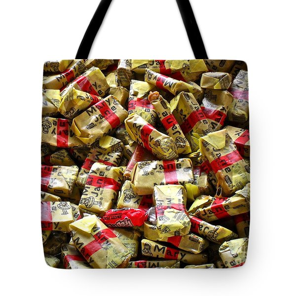 Mary Janes Tote Bag by Beth Saffer