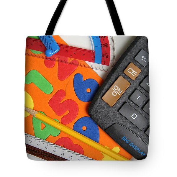 Mathematics Tools Tote Bag by Photo Researchers Inc
