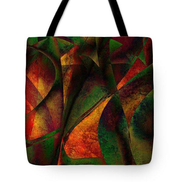 Merging Tote Bag by Amanda Moore