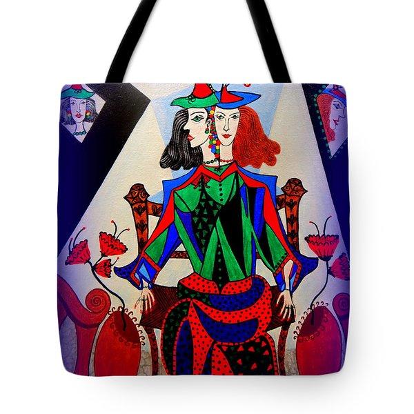 Metamorphosis Of Eleonore Tote Bag