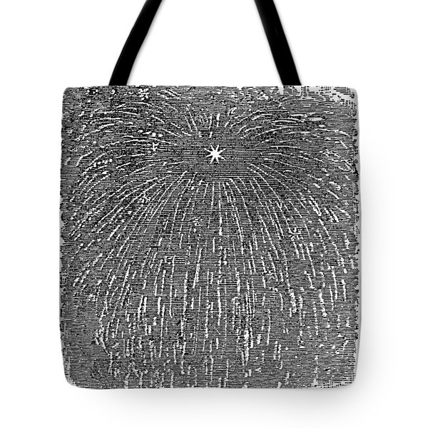 Meteor Shower, 1833 Tote Bag by Granger