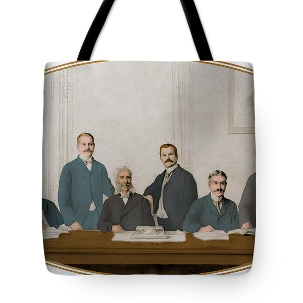 Meyer Guggenheim And Sons Tote Bag by Science Source
