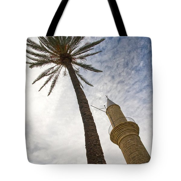 Minaret Tote Bag by Stelios Kleanthous