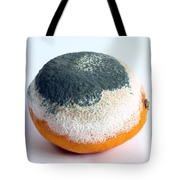Moldy Orange Tote Bag by Photo Researchers, Inc.