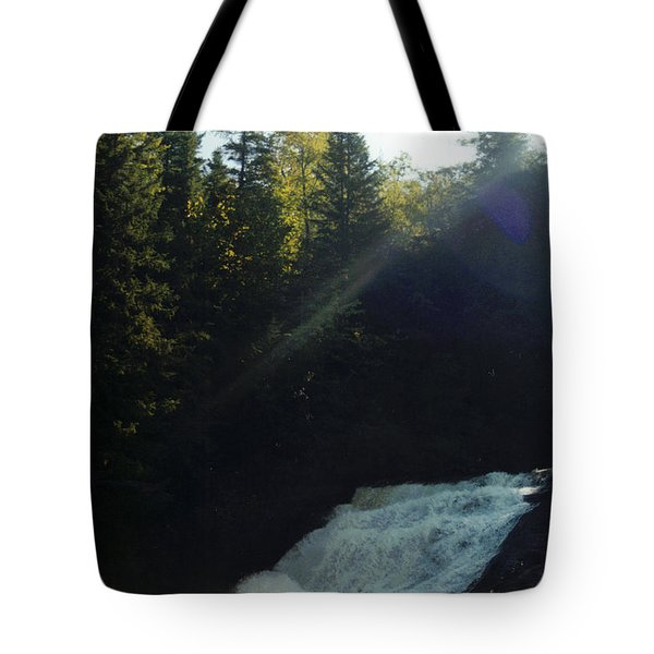 Tote Bag featuring the photograph Morning Waterfall by Stacy C Bottoms