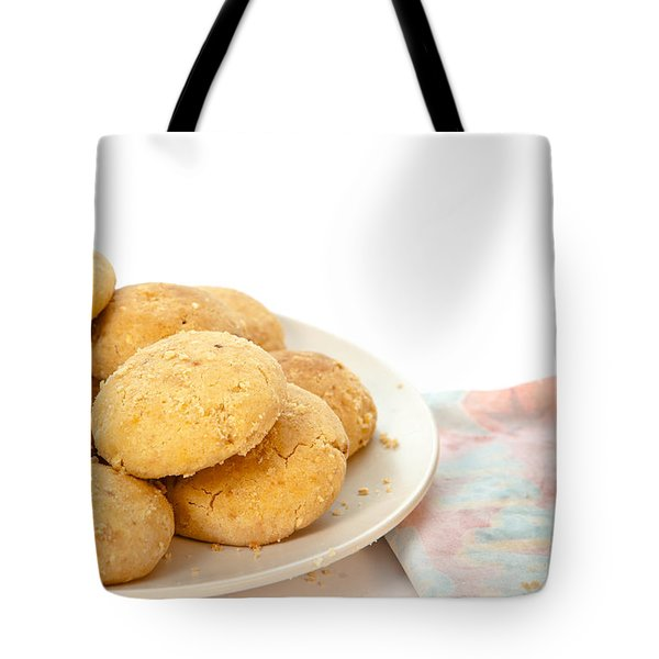 Moroccan Biscuits Tote Bag by Tom Gowanlock