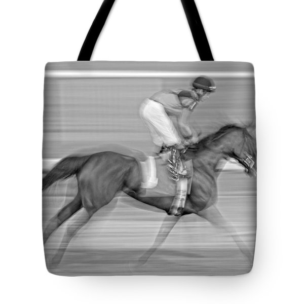 Motion  Tote Bag by Betsy Knapp