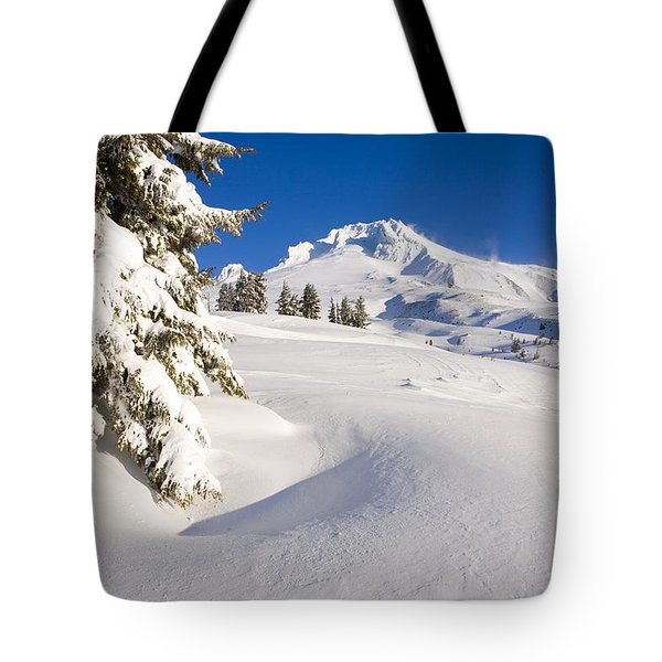 Mount Hood, Oregon, United States Of Tote Bag by Craig Tuttle