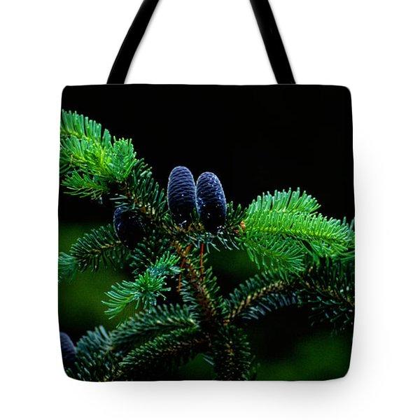 Mountain Life Tote Bag by Sharon Elliott