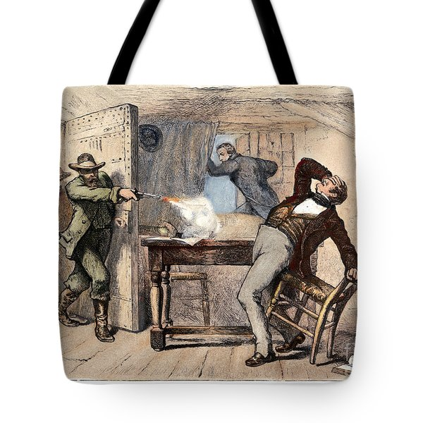 Murder Of Smith, 1844 Tote Bag by Granger