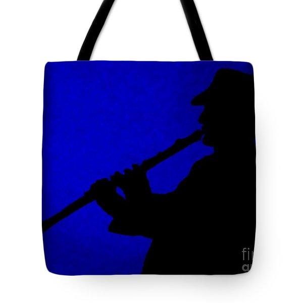 Music Man Tote Bag by Julie Brugh Riffey