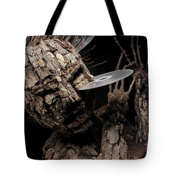 Net Damage Tote Bag by Adam Long