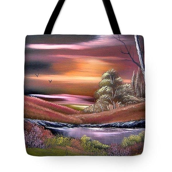 Neverland Tote Bag by Cynthia Adams
