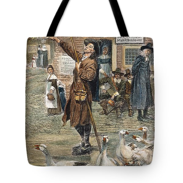 New England: Quaker, 1660 Tote Bag by Granger