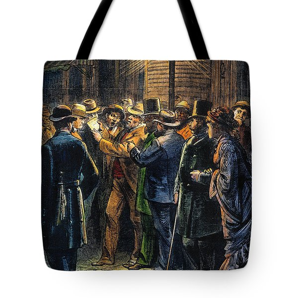 New York: Election, 1876 Tote Bag by Granger