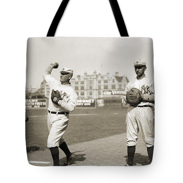 New York Highlanders, 1912 Tote Bag by Granger