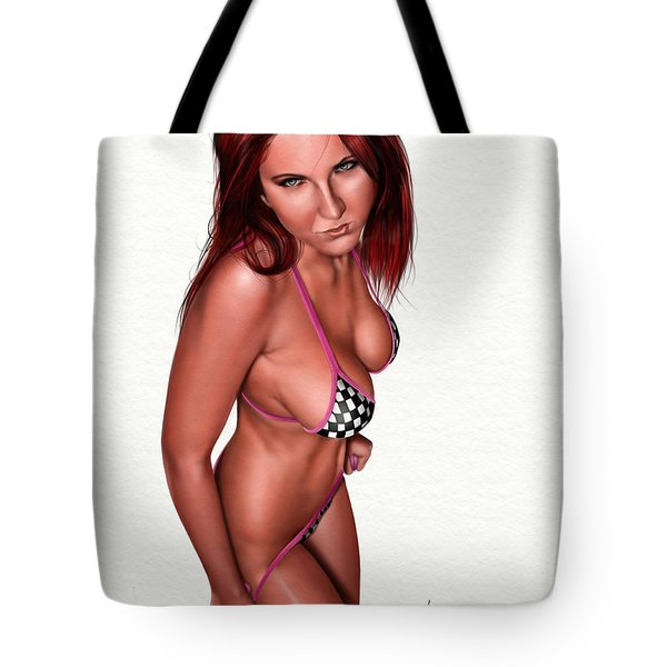 Nicole Tote Bag by Pete Tapang