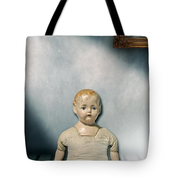 Old Doll Tote Bag by Joana Kruse