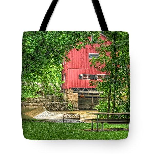 Old Indian Mill Tote Bag by Pamela Baker