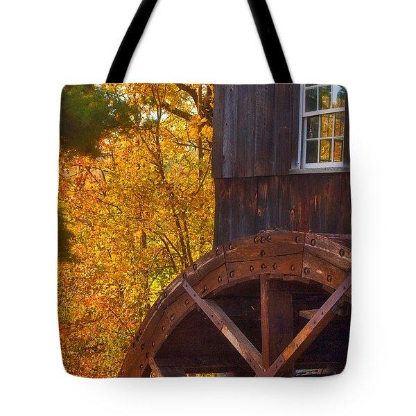 Old Mill Tote Bag by Joann Vitali