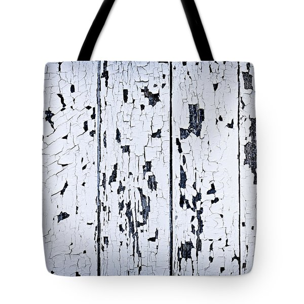 Old Painted Wood Abstract Tote Bag by Elena Elisseeva