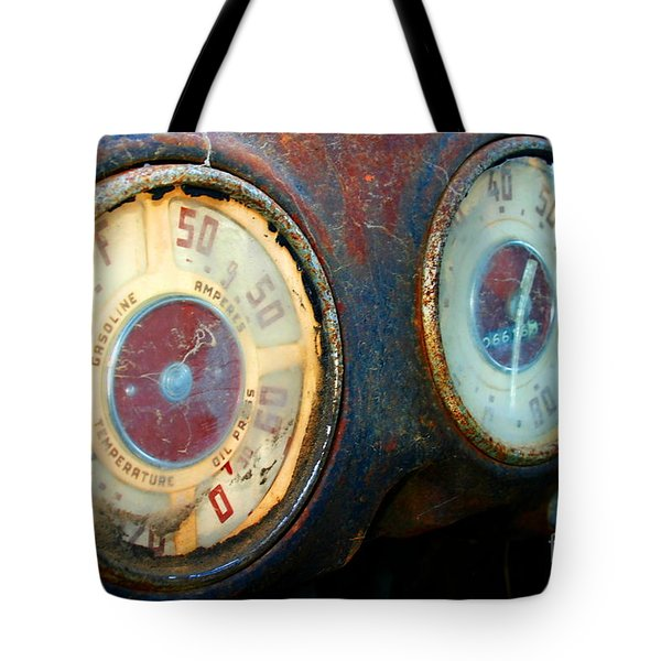 Old Speed Tote Bag