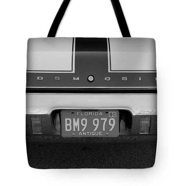 Olds Cs In Black And White Tote Bag by Rob Hans