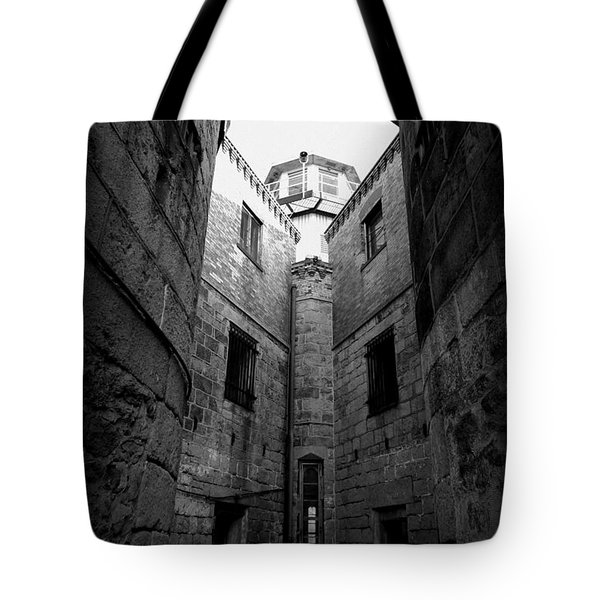 Tote Bag featuring the photograph Oppression by Richard Reeve