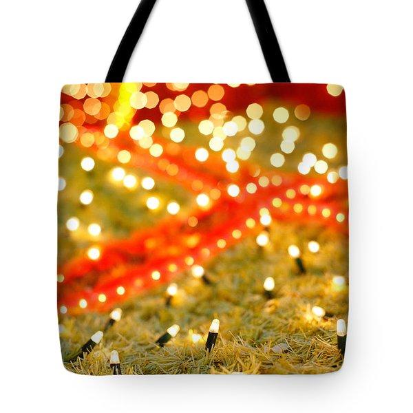 Outdoor Christmas Decorations Tote Bag by Gaspar Avila