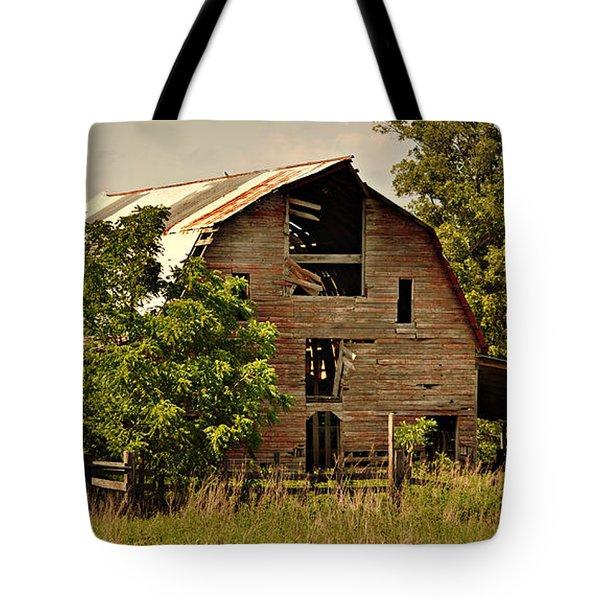 Ozark Barn Tote Bag by Marty Koch