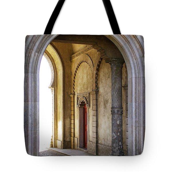 Palace Arch Tote Bag by Carlos Caetano