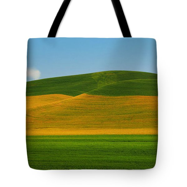 Palouse Panorama Tote Bag by Winston Rockwell