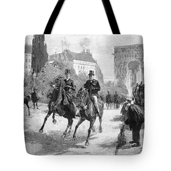 Paris: Bois De Boulogne Tote Bag by Granger