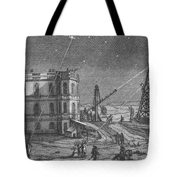Paris Observatory, 17th Century Tote Bag by Science Source