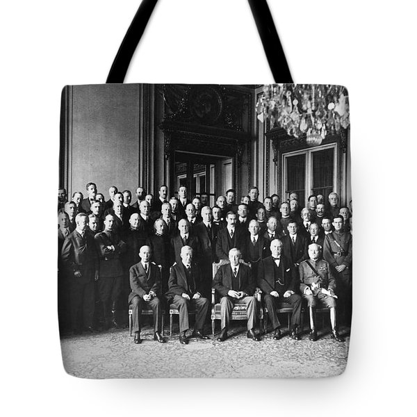 Paris Peace Conference Tote Bag by Granger