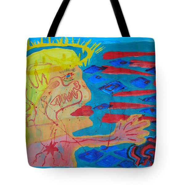 Past Their Mask - Hate Evil  Tote Bag