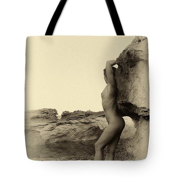 Past Time Nude Photography Tote Bag