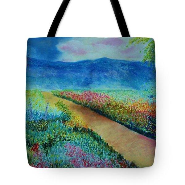 Patricia's Pathway Tote Bag