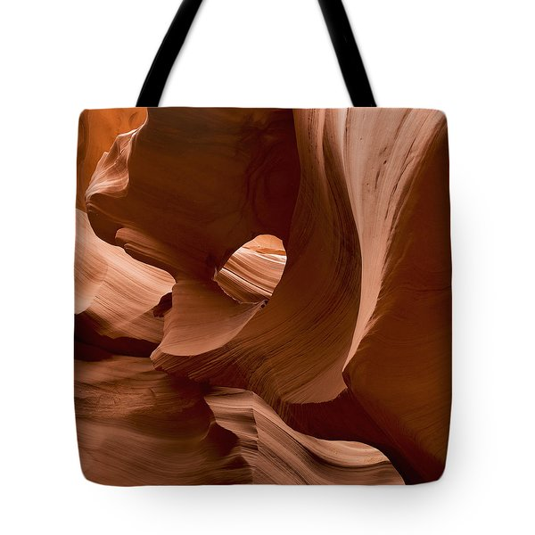 Patterns In The Smooth Sandstone Tote Bag by Keith Levit